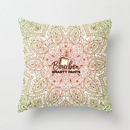 Bourbon Smarty Pants is so Zen Throw Pillow