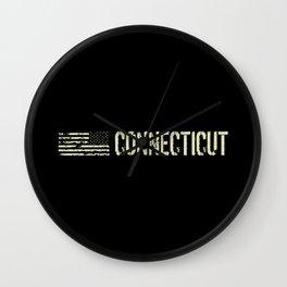Black Flag: Connecticut Wall Clock