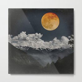 Moon Melodies Metal Print