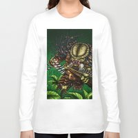 predator Long Sleeve T-shirts featuring PREDATOR  by Bungle