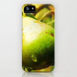 Wild Pears iPhone Case