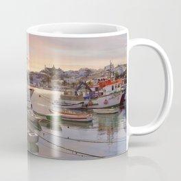 Lagos fishing boats at dusk Coffee Mug