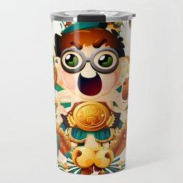 The Champion of new year Travel Mug