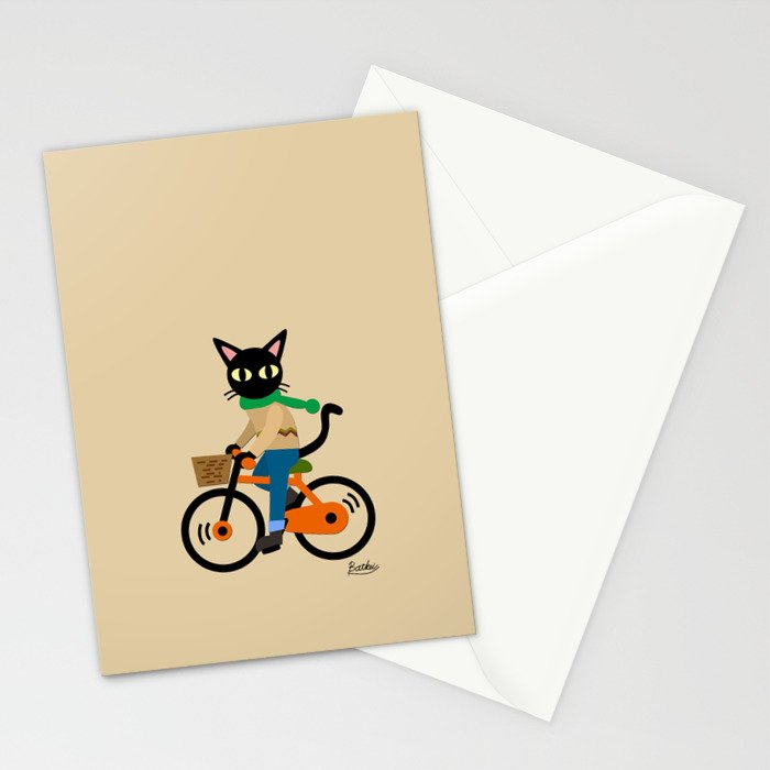 Whim's cycling Stationery Cards