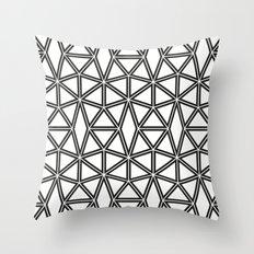 5050 No.8 Throw Pillow