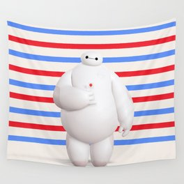 Baymax Big Hero 6 Wall Tapestry