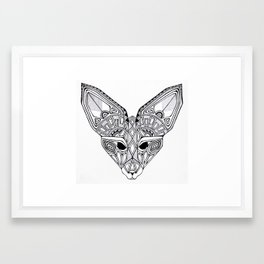 Fennec Fox Framed Art Print