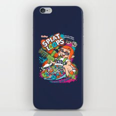 Splat Loops iPhone & iPod Skin