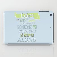 muppets iPad Cases featuring The muppets.. lifes a happy song.. by studiomarshallarts