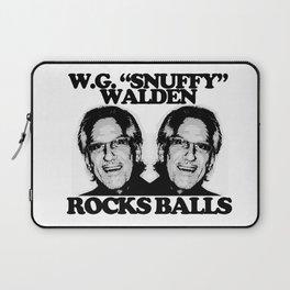 "W.G. ""Snuffy"" Walden Rocks Balls Laptop Sleeve"