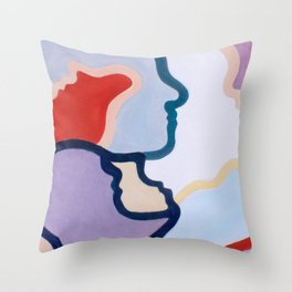 More Alike than We Think Throw Pillow