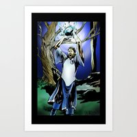 Dirk Nowitzki the eternal Art Print