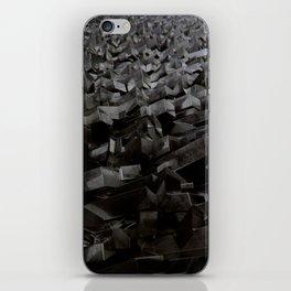 Black Steel iPhone Skin