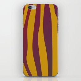 Design tiger Wild lines ethnic chocos iPhone Skin