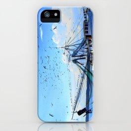 Shrimp Boat  iPhone Case