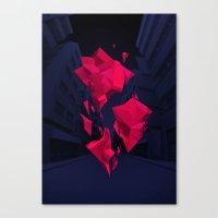 akira Canvas Prints featuring Akira by Sean Ostashek