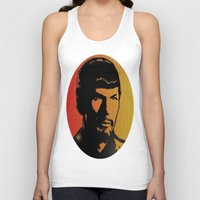 spock Tank Tops featuring Spock by SVA🌺