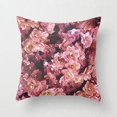 Succulent in Bloom Throw Pillow