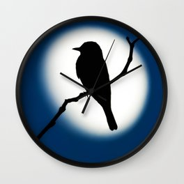 Western Kingbird - Study 2 Wall Clock
