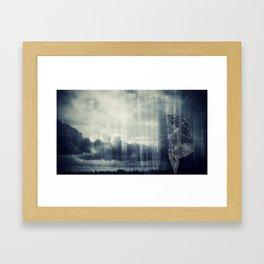 Fracture Framed Art Print