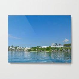 Bermuda Blue Metal Print