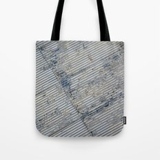 Warehouse District -- Rustic Farm Chic Abstract Tote Bag