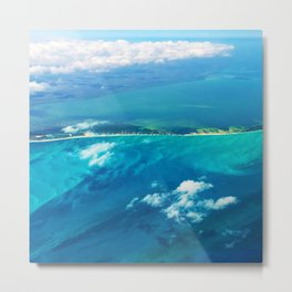 498 - Abstract Aeriel Design Metal Print