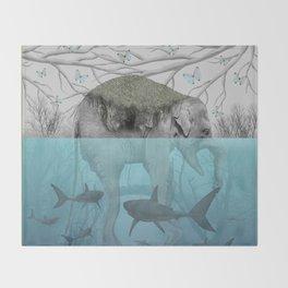 Elephant Island Throw Blanket
