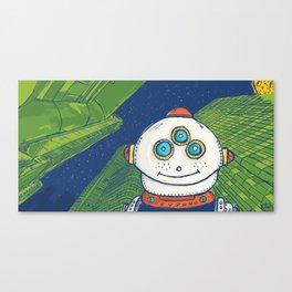 Robot Darin Canvas Print