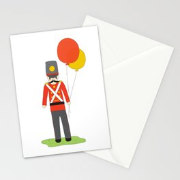 Balloon Soldier Stationery Cards