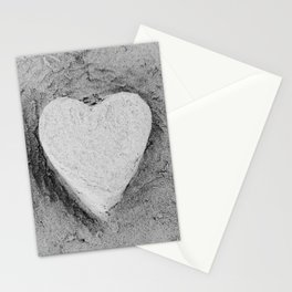 Sand Castle Heart Stationery Cards