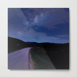 Road Trip With The Stars Metal Print