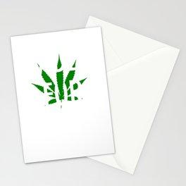 Faded For Life Shirt Funny Smoke Weed Shirt Marijuana Shirt Stationery Cards
