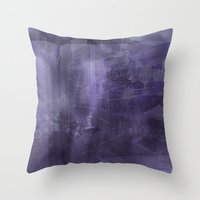 psychology Throw Pillows featuring Ecphory by Art by Mel