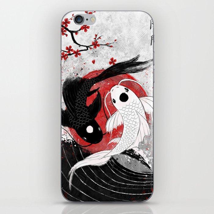 Koi fish - Yin Yang iPhone Skin