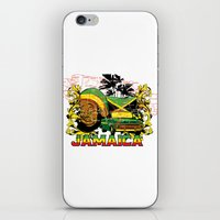 jamaica iPhone & iPod Skins featuring Jamaica by Tshirt-Factory