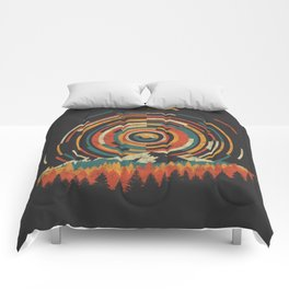The Geometry of Sunrise Comforters