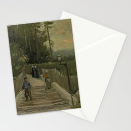 Path in Montmartre Stationery Cards