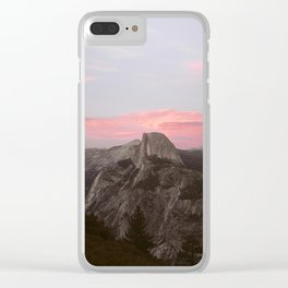 Sunset dome Clear iPhone Case
