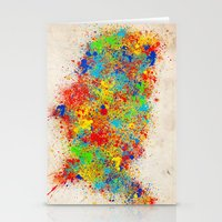 usa Stationery Cards featuring USA  by Bekim ART