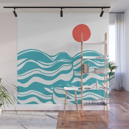 Swell, ocean waves Wall Mural