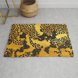 Abstract safari animal print Rug