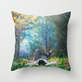 Day Dreaming Throw Pillow