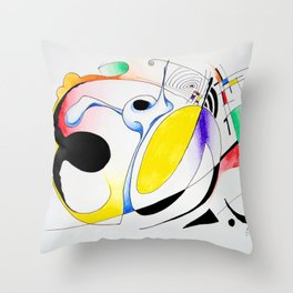 Shapes-1 Throw Pillow