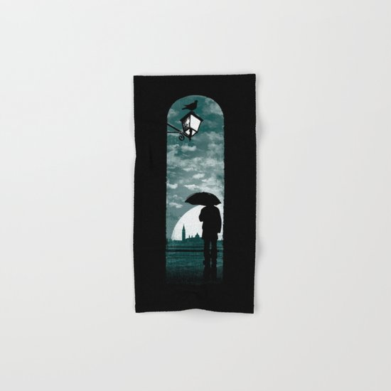 venetian alley Hand & Bath Towel