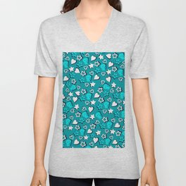 Lovely pattern 1 Unisex V-Neck