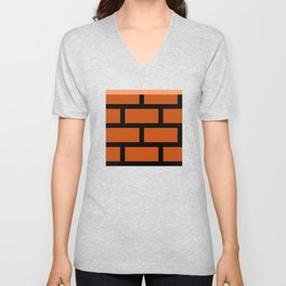 Super Block Unisex V-Neck
