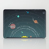 solar system iPad Cases featuring Solar System by scarriebarrie