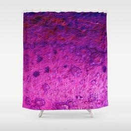Metal Scar Shower Curtain