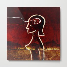 We're in this together - Woman (diptych) Metal Print